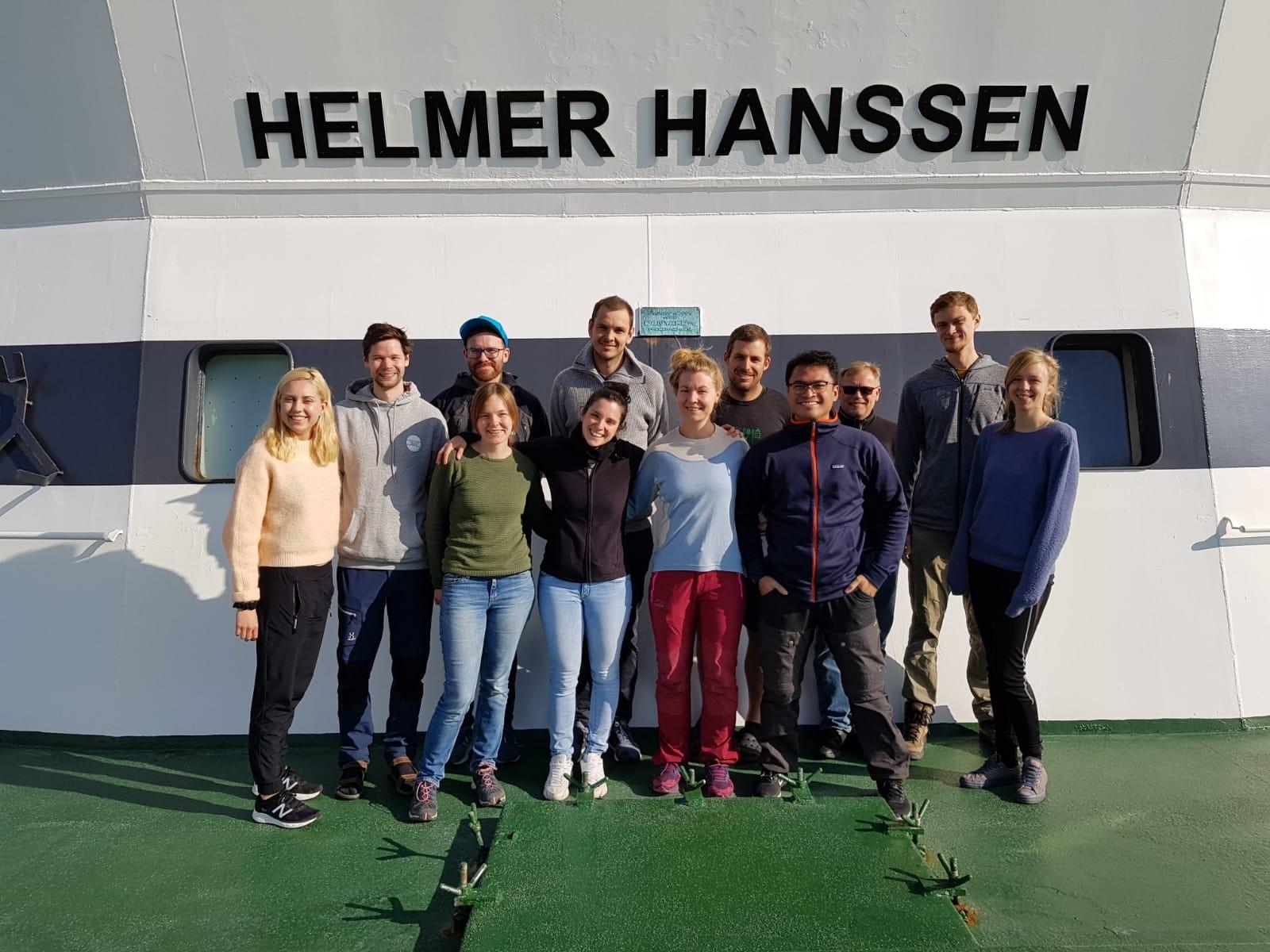 Tokt FF Helmer Hanssen deltakere